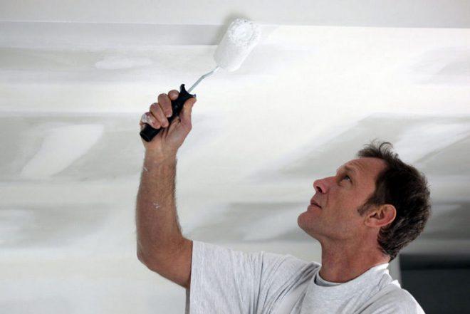 фарбування стелі