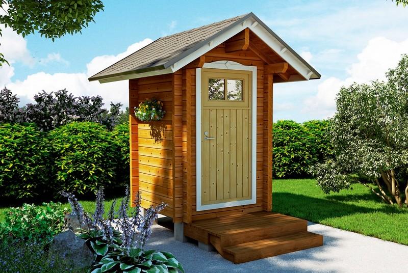 туалет на дачі