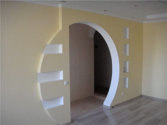 як зробити арку