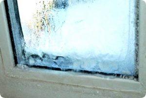 Чому замерзають вікна на балконі