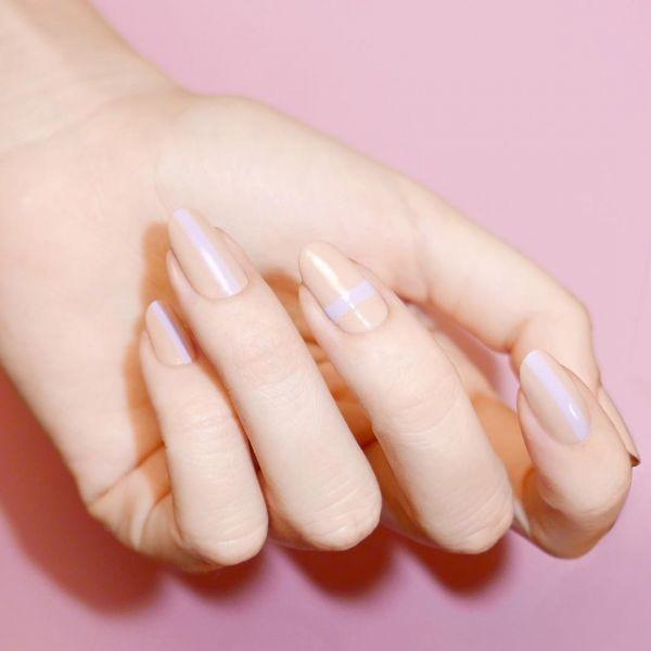 мигдальна форма нігтів