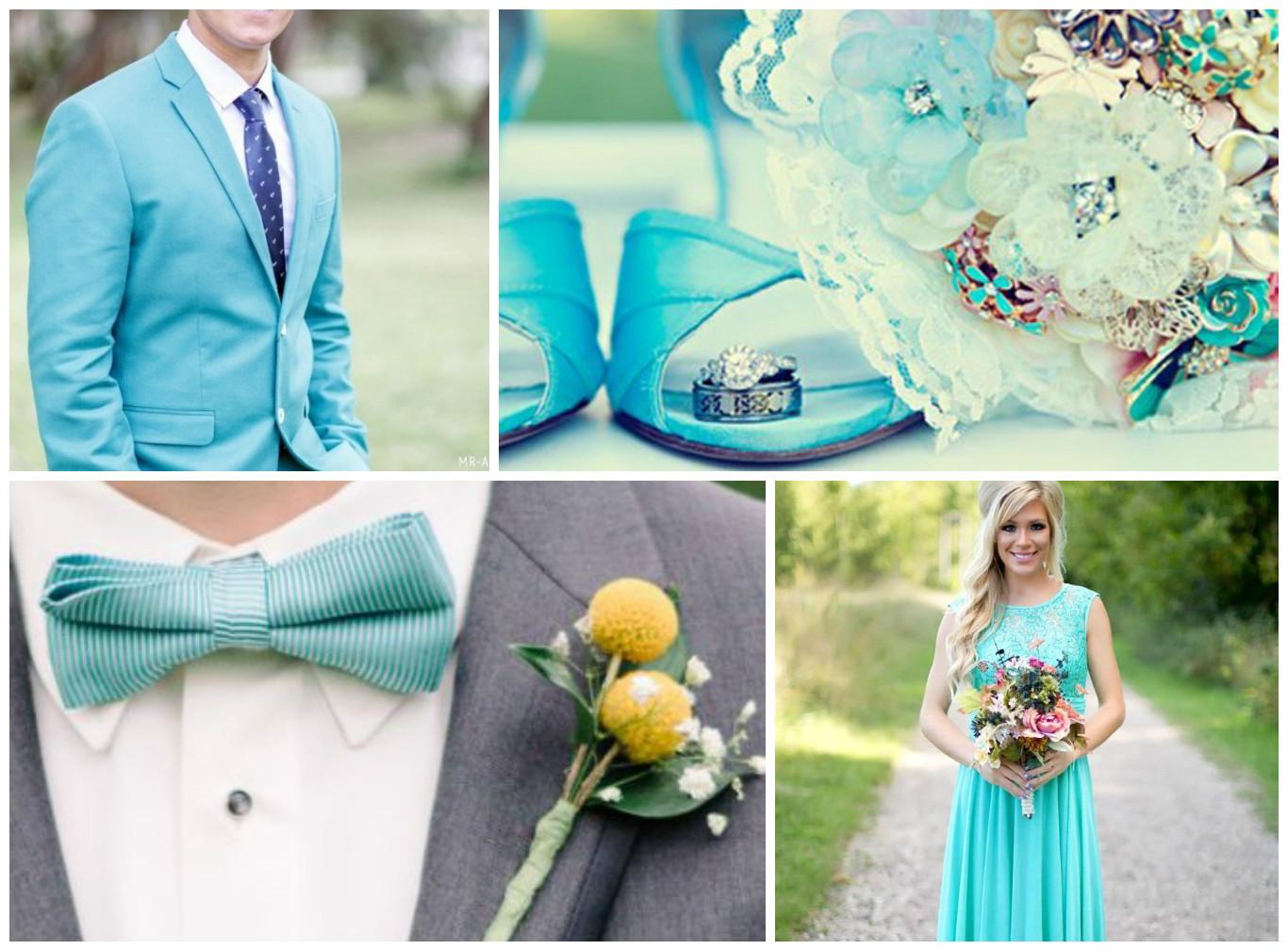 бірюзове весілля