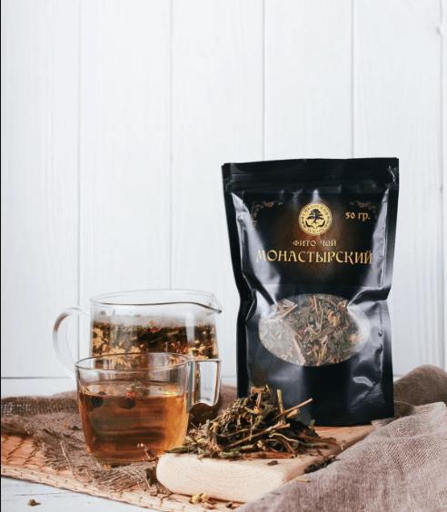 чай для схуднення монастирський