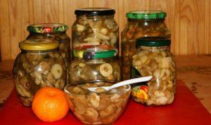 мариновані маслюки