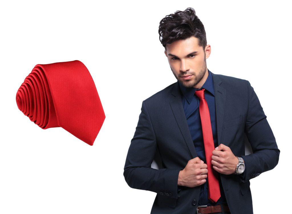 як завязати тонку краватку