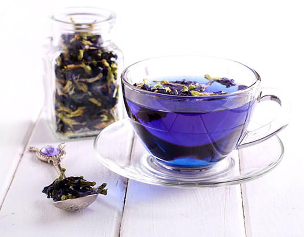 Синій чай з Таїланду
