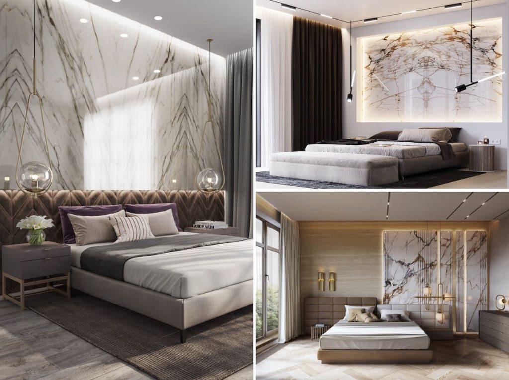 дизайн спальні 2020
