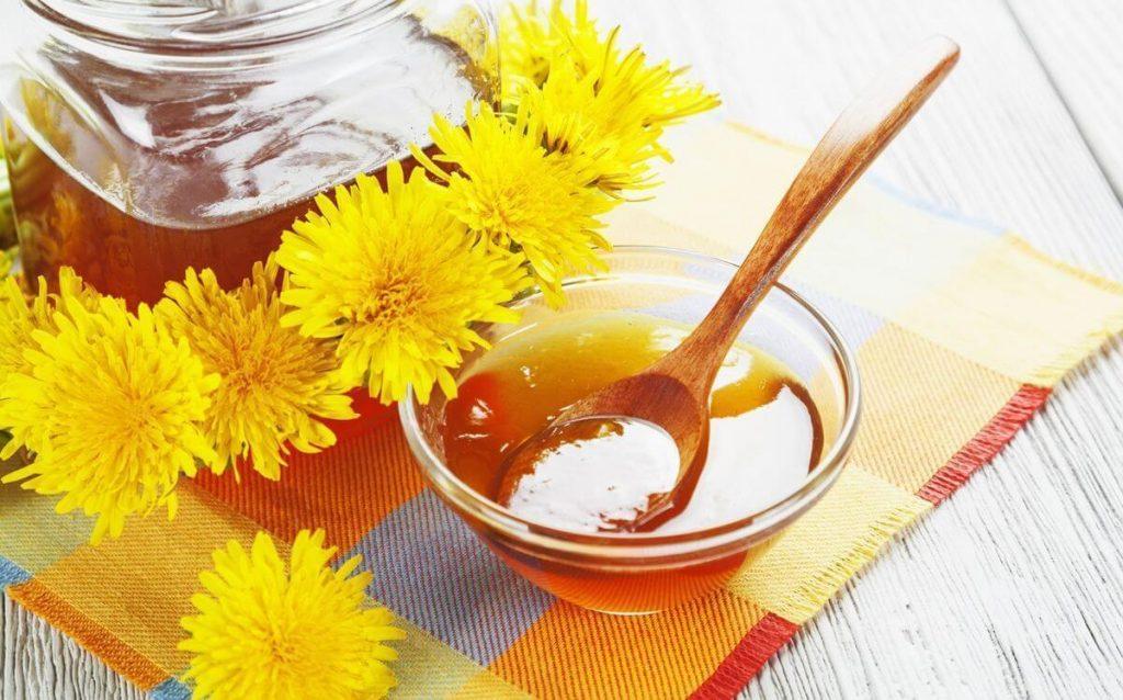 мед з кульбаб корисні властивості