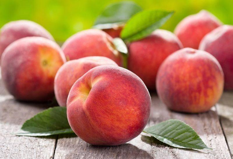 персики користь і шкода