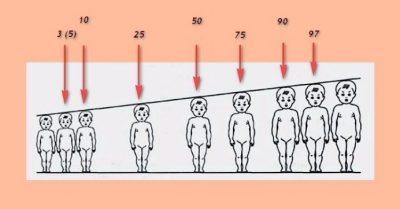 співвідношення ваги і зросту дітей