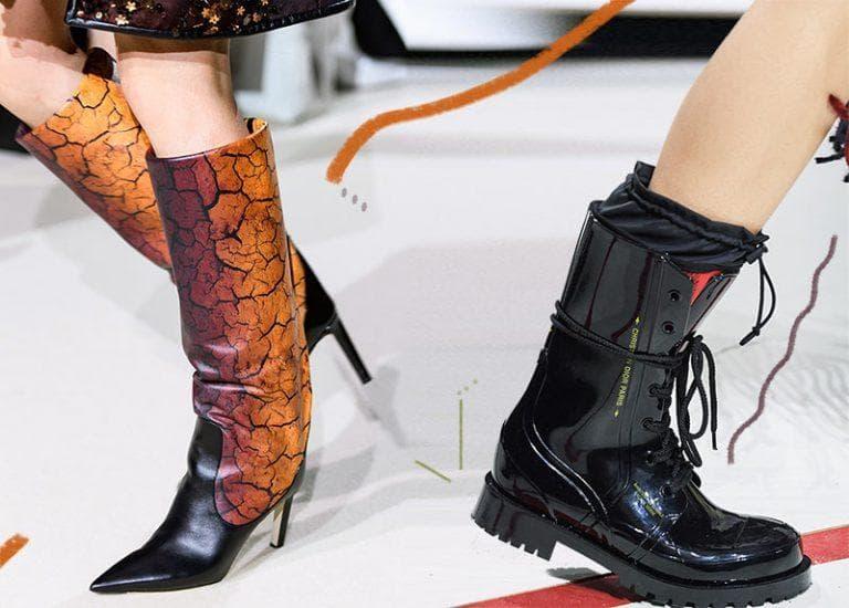 модні чоботи 2021